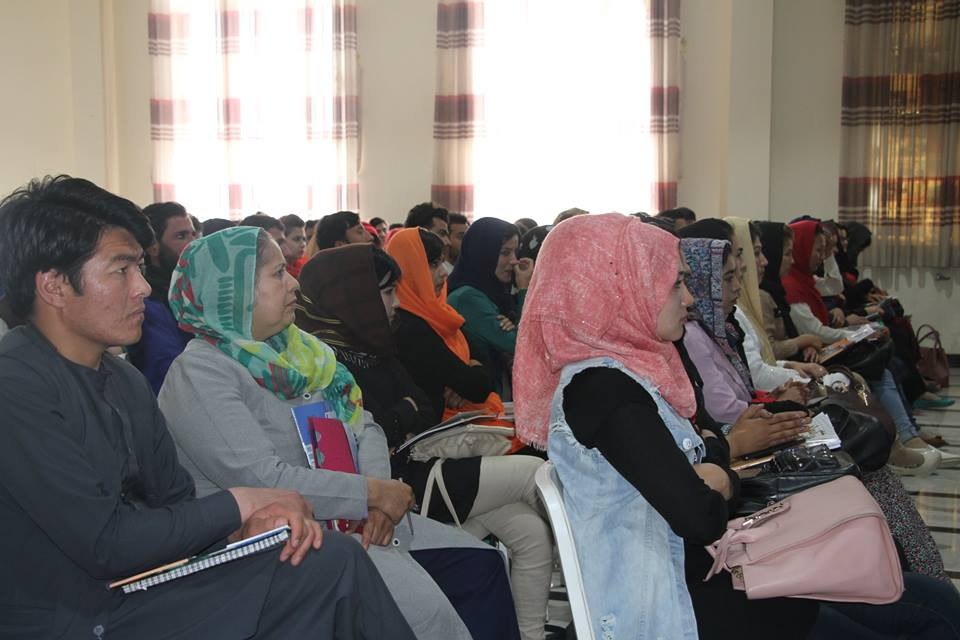 Workshop of Public Awareness for Alumni of Rabia Balkhi University: