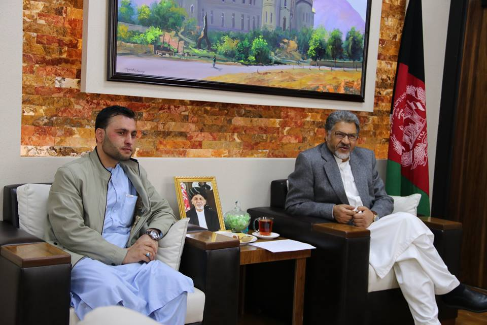 Meeting with Newly Elected Members of Wolasi Jirgah from Nangarhar Province: