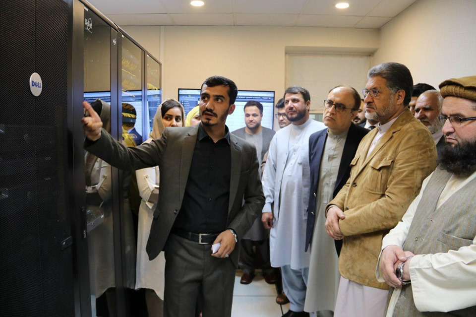 Opening Ceremony of Server Room/Data Center at Ministry of State for Parliamentary Affairs (SMPA):