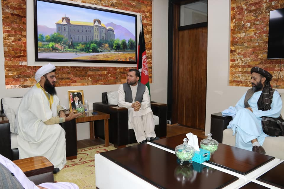 SMPA Minister meets Advisor to the President in Public Affairs and Envoy of the President in Peace Affairs