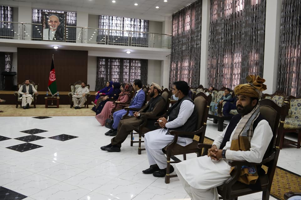 SMPA Minister meets members of the Joint Jirga of Loya Paktia Youth Associations