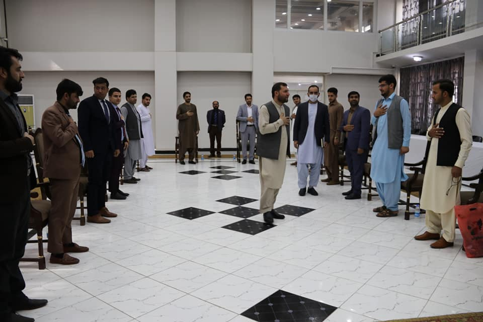 SMPA Minister meets Youth and Civil Society members from Farah and Nangarhar