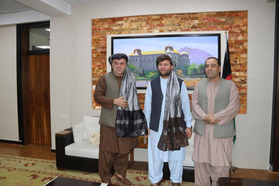 SMPA Minister meets S. Advisor to H.E. President & MP of Kabul