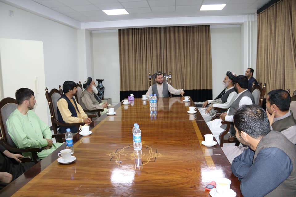 SMPA Minister meets Tribal Elders, National Traders and Youth of Kabul and Balkh