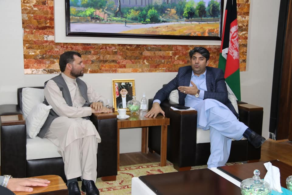 SMPA Minister meets MPs of Khost and Bamyan