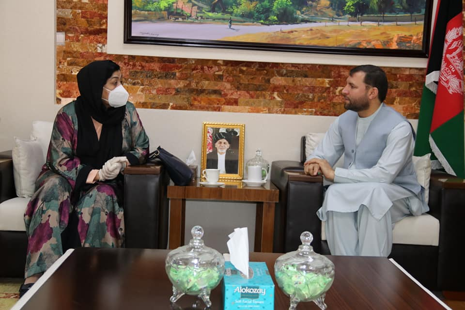 SMPA Minister meets Advisor to the President and Advisor to IDLG