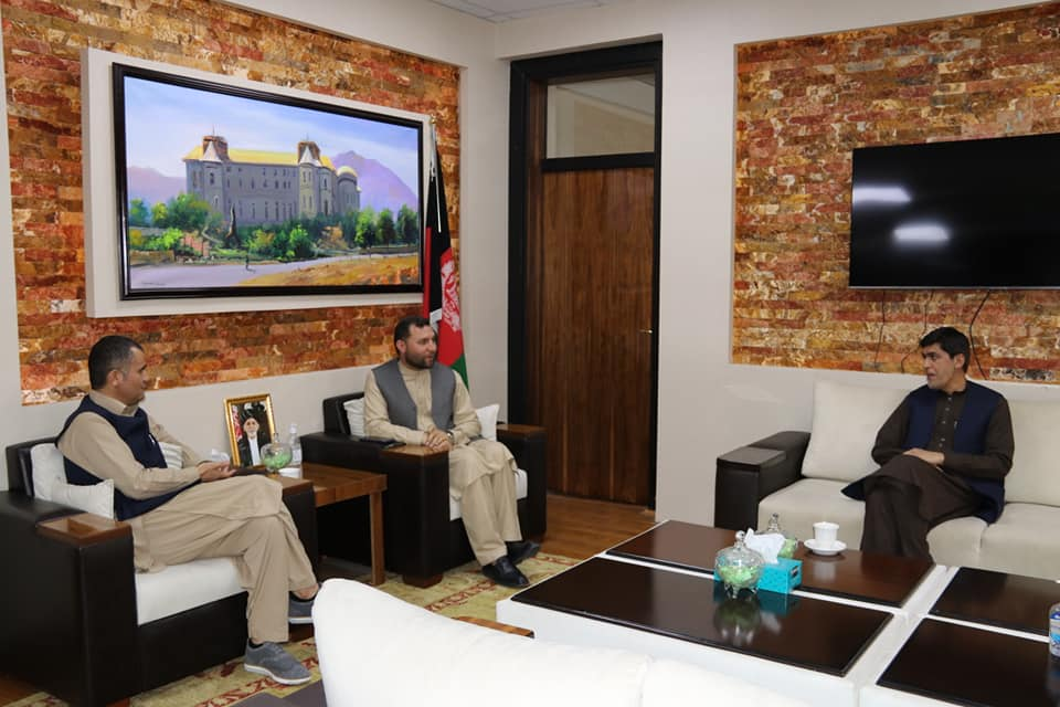 SMPA meets MPs of Balkh and Sar-e-Pul
