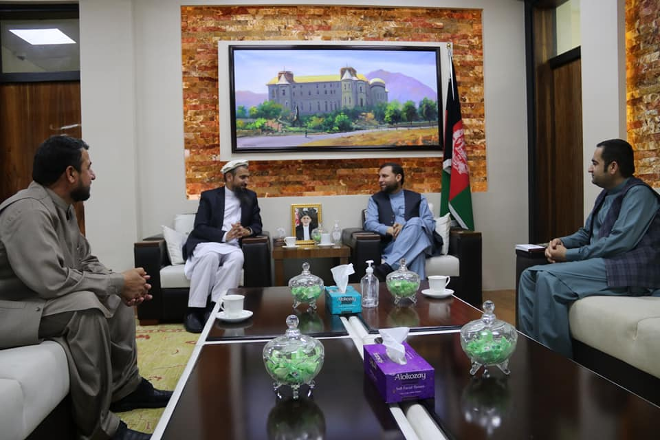 SMPA meets Governor of Nooristan & Former Speaker of Youths' Parliament