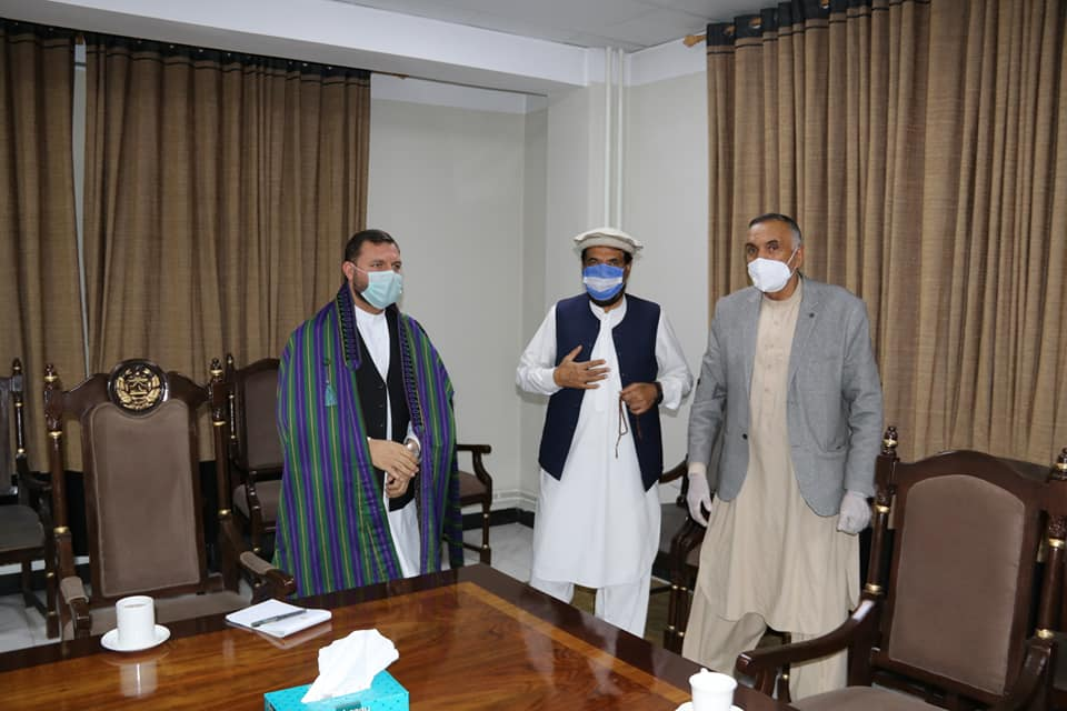 SMPA meets tribal elders of Maidan Wardak, youths of Logar and employees of MRRD.