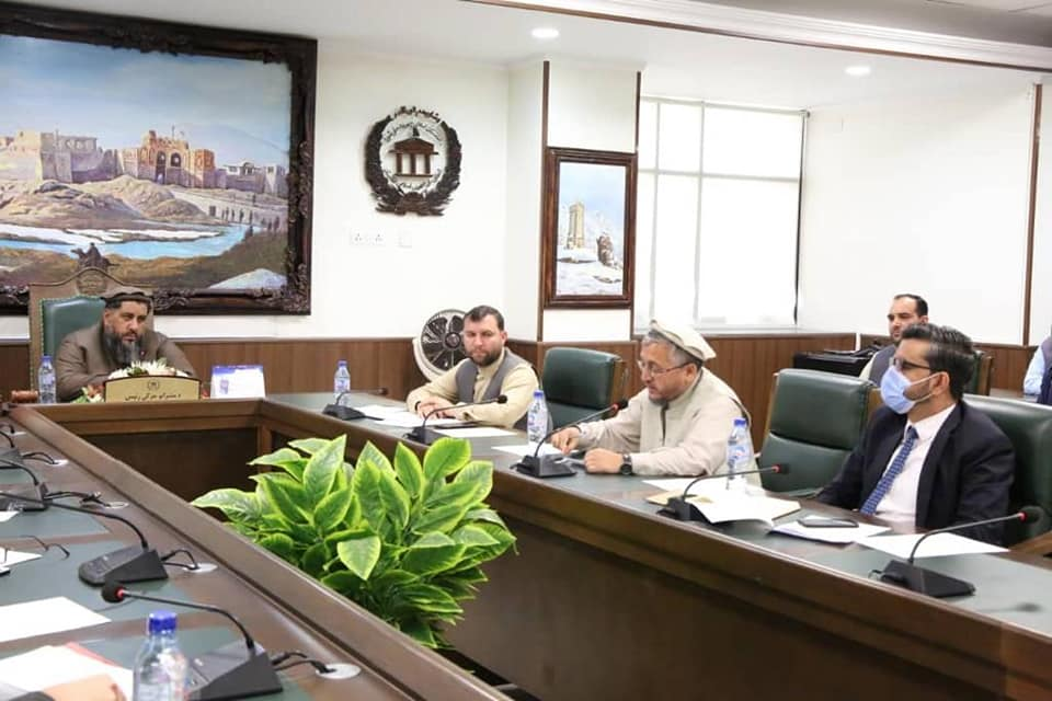 SMPA Minister participates the meeting of Administrative Board of Senate