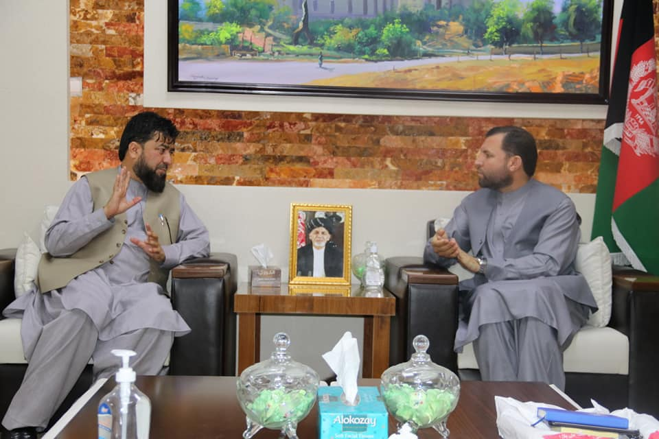 SMPA Minister meets Senator of Kunar and Deputy Minister of MRRA