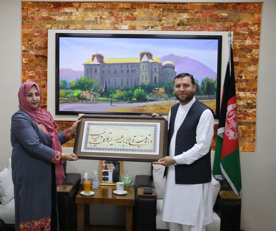 SMPA meets Head of IECC, Director of Asan Khedmat, and Deputy Governor of Maidan Wardak