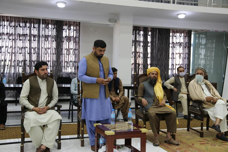SMPA Minister meets members of the Joint Jirga of Peoples of Khak-e-Jabbar