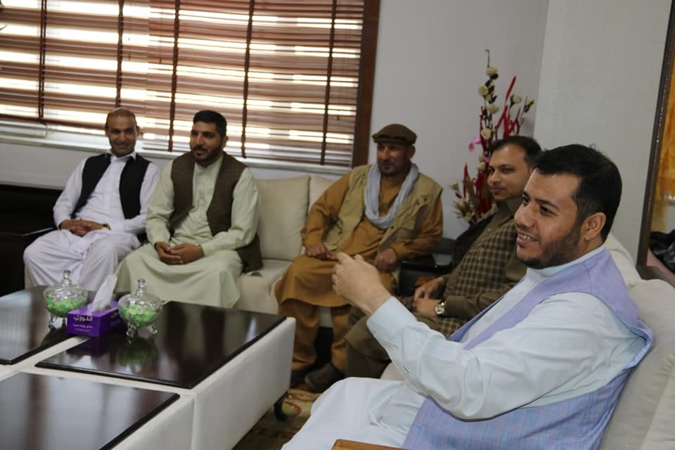 SMPA Minister meets MPs of Nangarhar