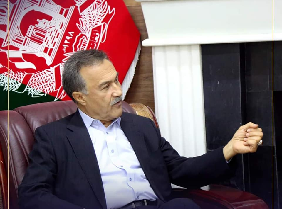 SMPA Minister meets Kabul Mayor