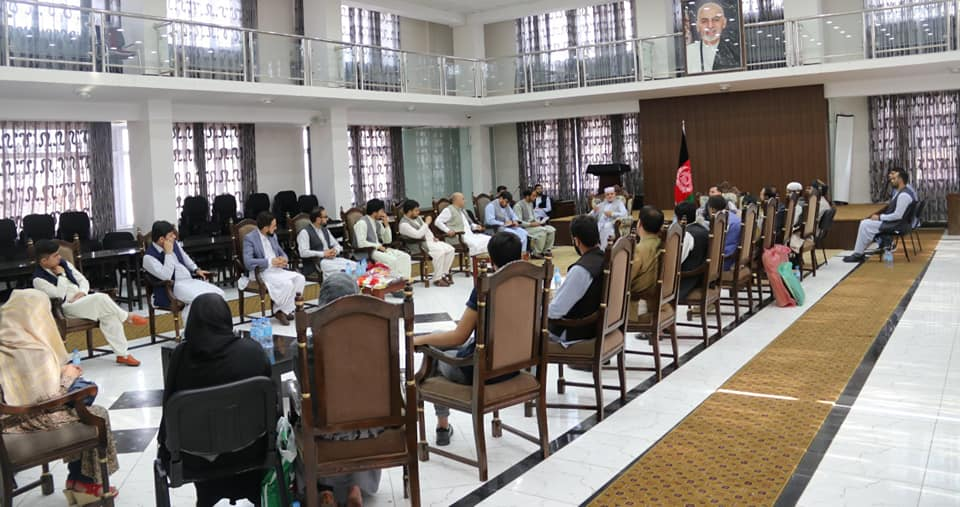 SMPA Minister meets the residents of Maidan Wardak and some of Government Officials