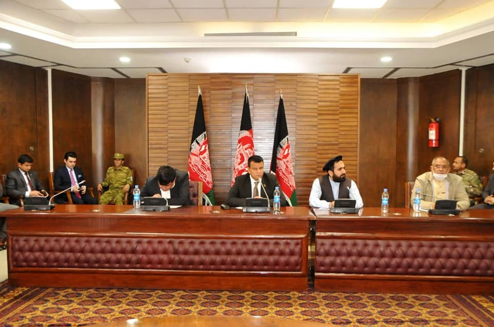 Wolesi Jirga Administrative Board held meeting with High Security Officials