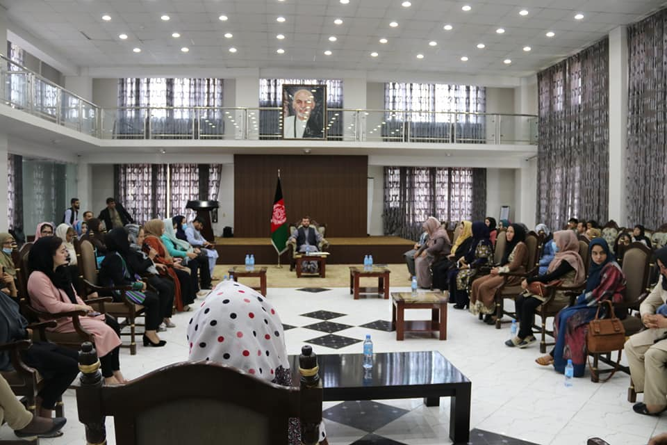 SMPA Minister meets a number of Active Women