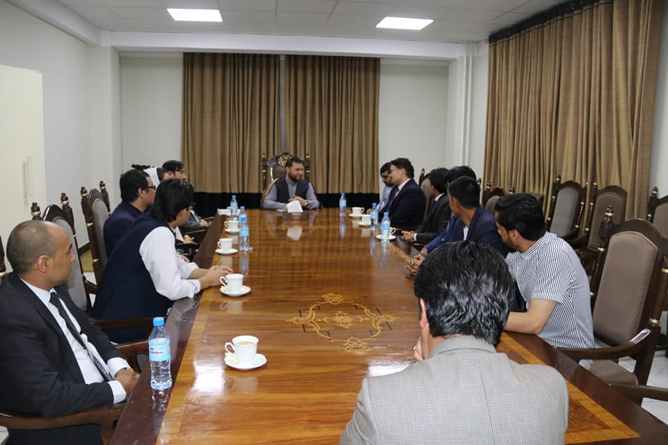 SMPA Minister meets Youth of Western parts of Kabul