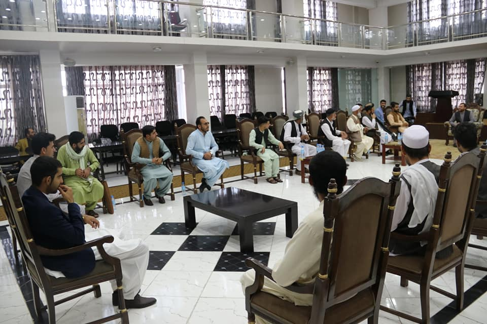 SMPA Minister meets the Youths and Elders and of Hussainkhil and Mandozi Tribes