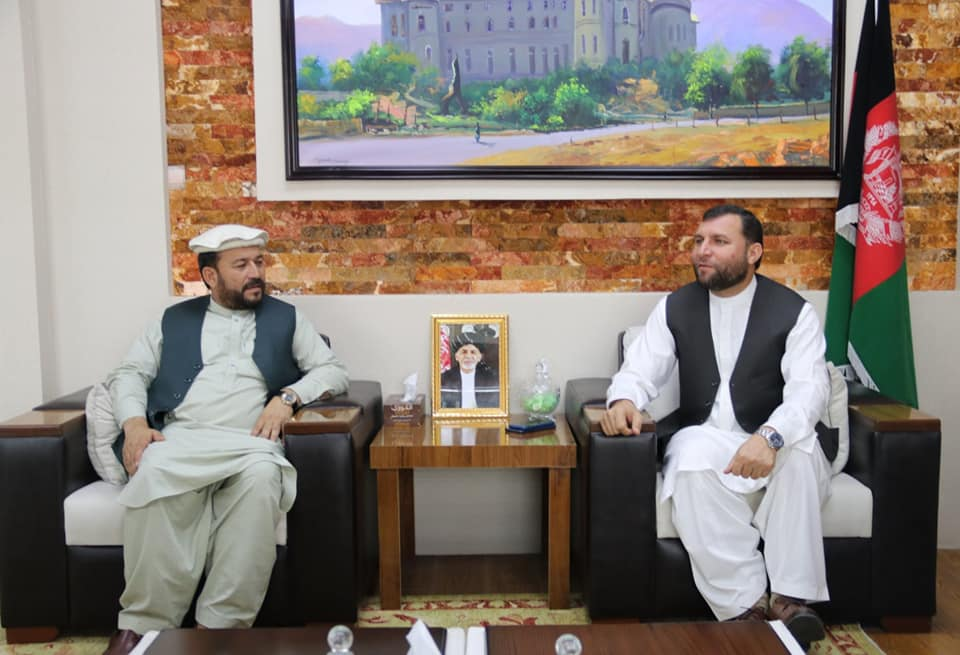 SMPA Minister meets Members of Kunar Provincial Council
