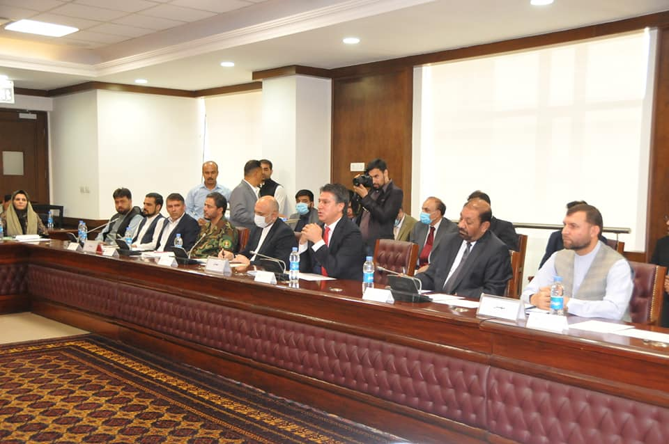 SMPA Minister participates the meeting of WJ Leadership Committee regarding the Rocket attacks on Kunar