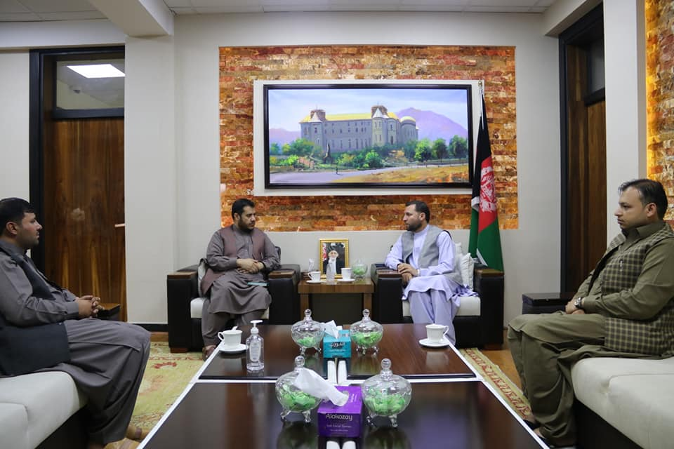 SMPA Minister meets MPs of Ghazni and Nangarhar