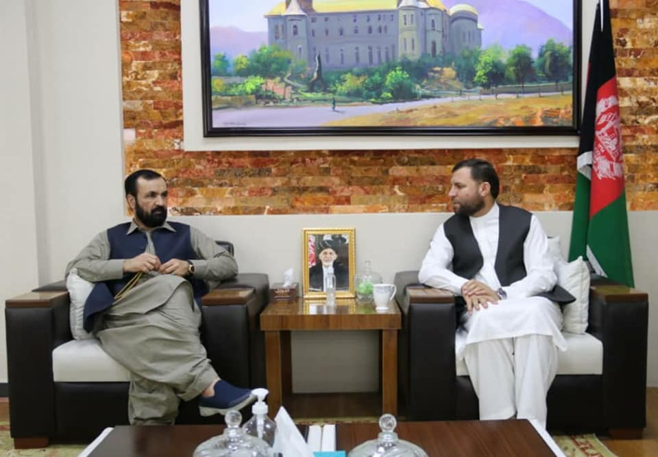 SMPA Minister meets MPs Nangarhar and Helmand and DG of Kunduz