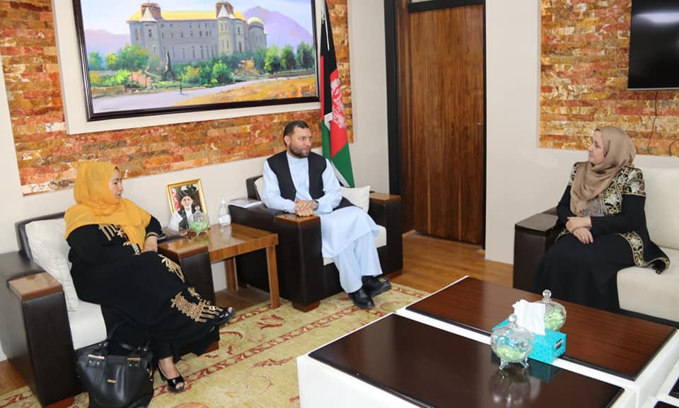 SMPA Minister meets MPs of Samangan and Maidan Wardak