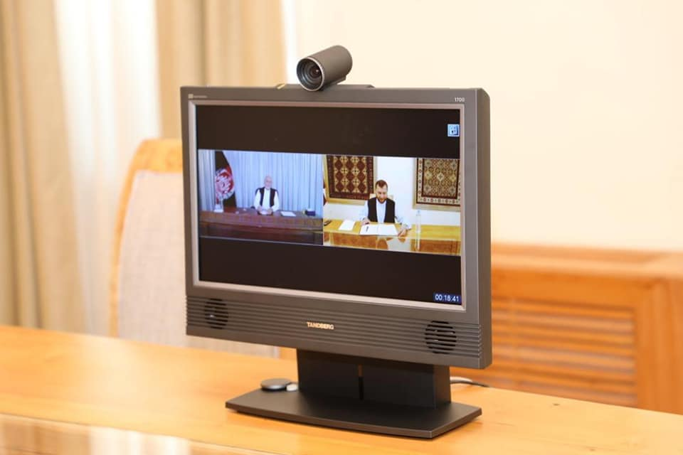 H.E Mr. President holds a Video Conference with SMPA Minister