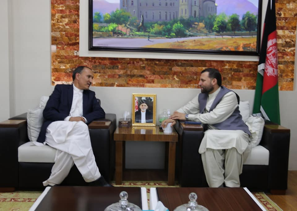 SMPA Minister meets Senators and DG of Helmand