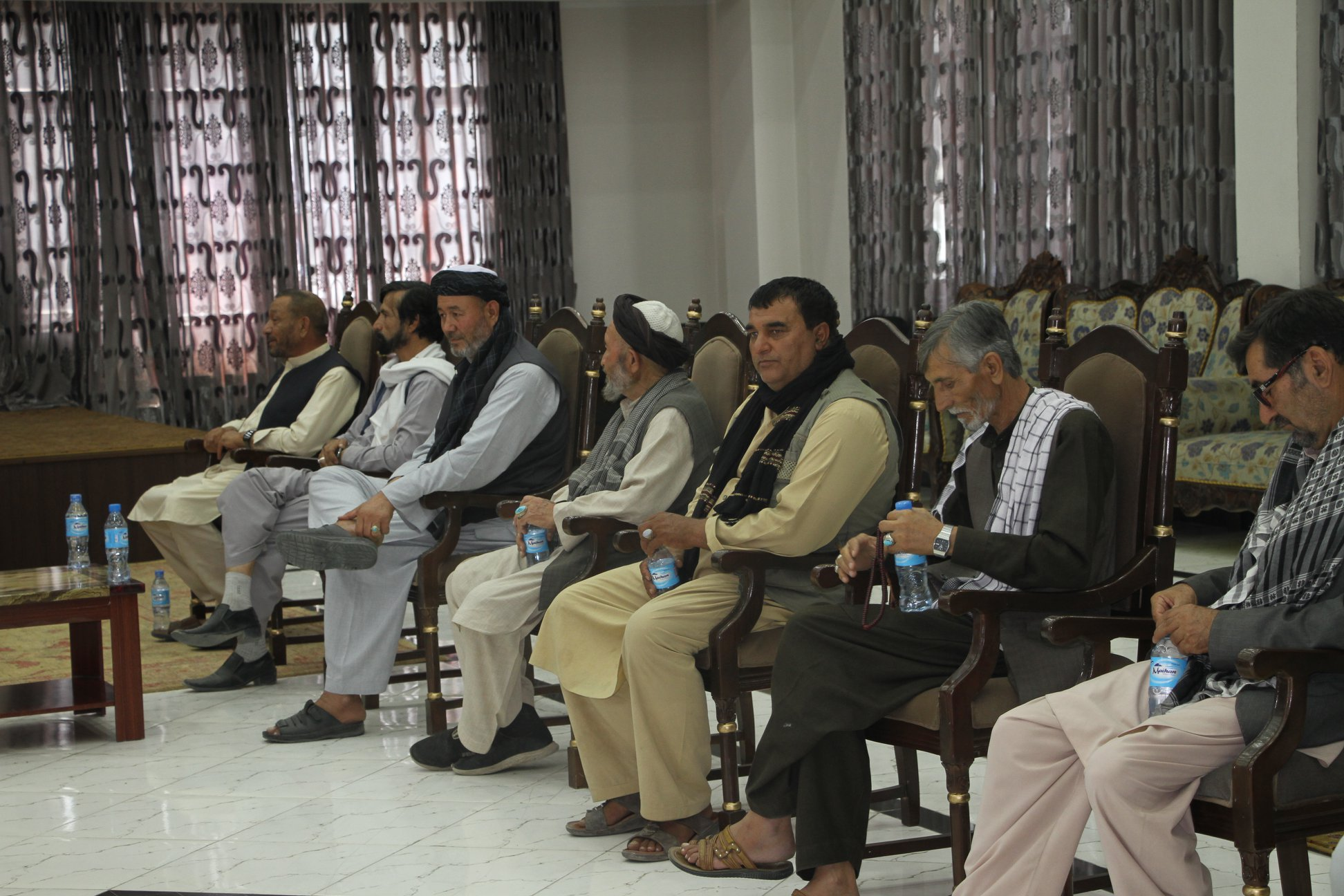 Deputy of Parliamentary Affairs meets Influential & Tribal Elders, & Youth from various provinces of the Country