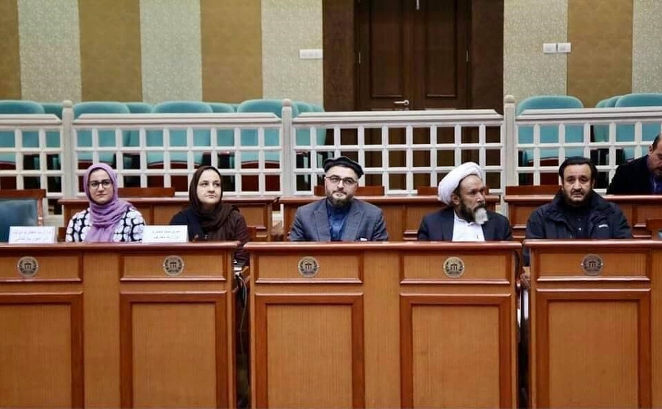 DM Admin and Finance of SMPA attends Plenary Session of Mashrano Jirga with the AM of Education