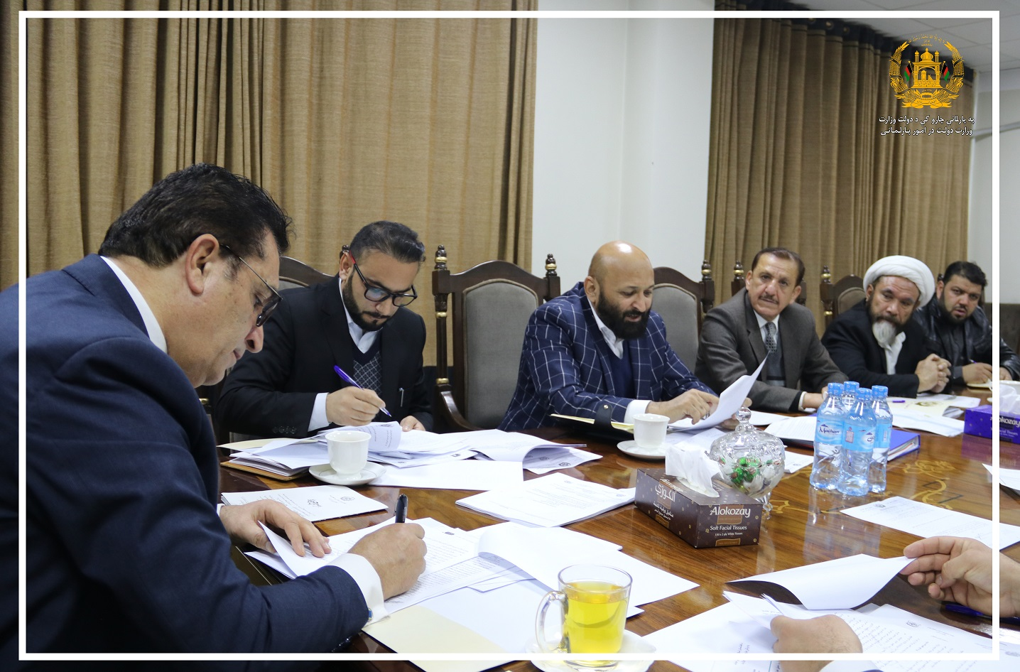 SMPA Minister Chairs Meeting on the Role of Parliamentary Relations' Regulation and Oversight