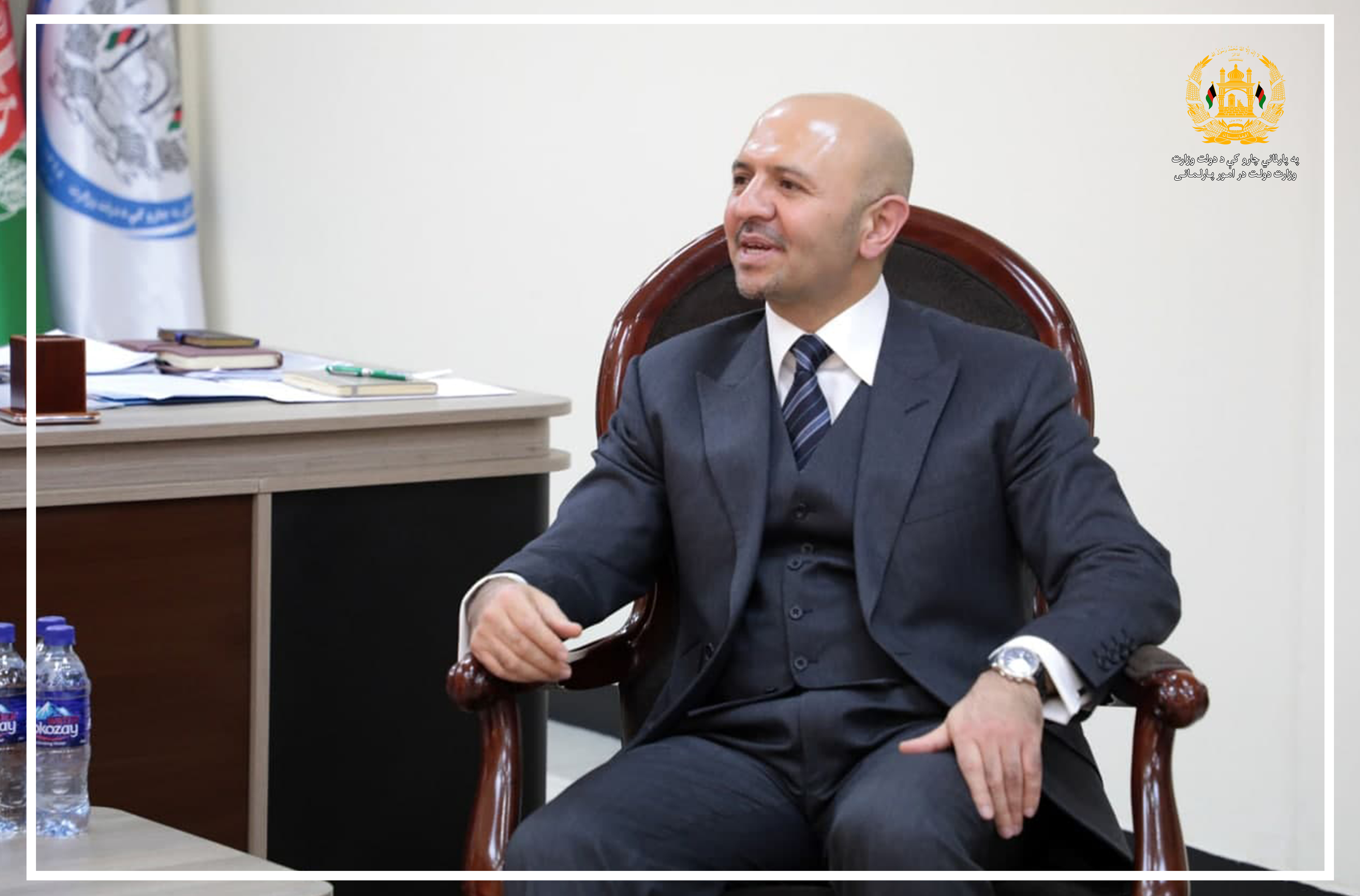 SMPA Minister meets SMP Minister