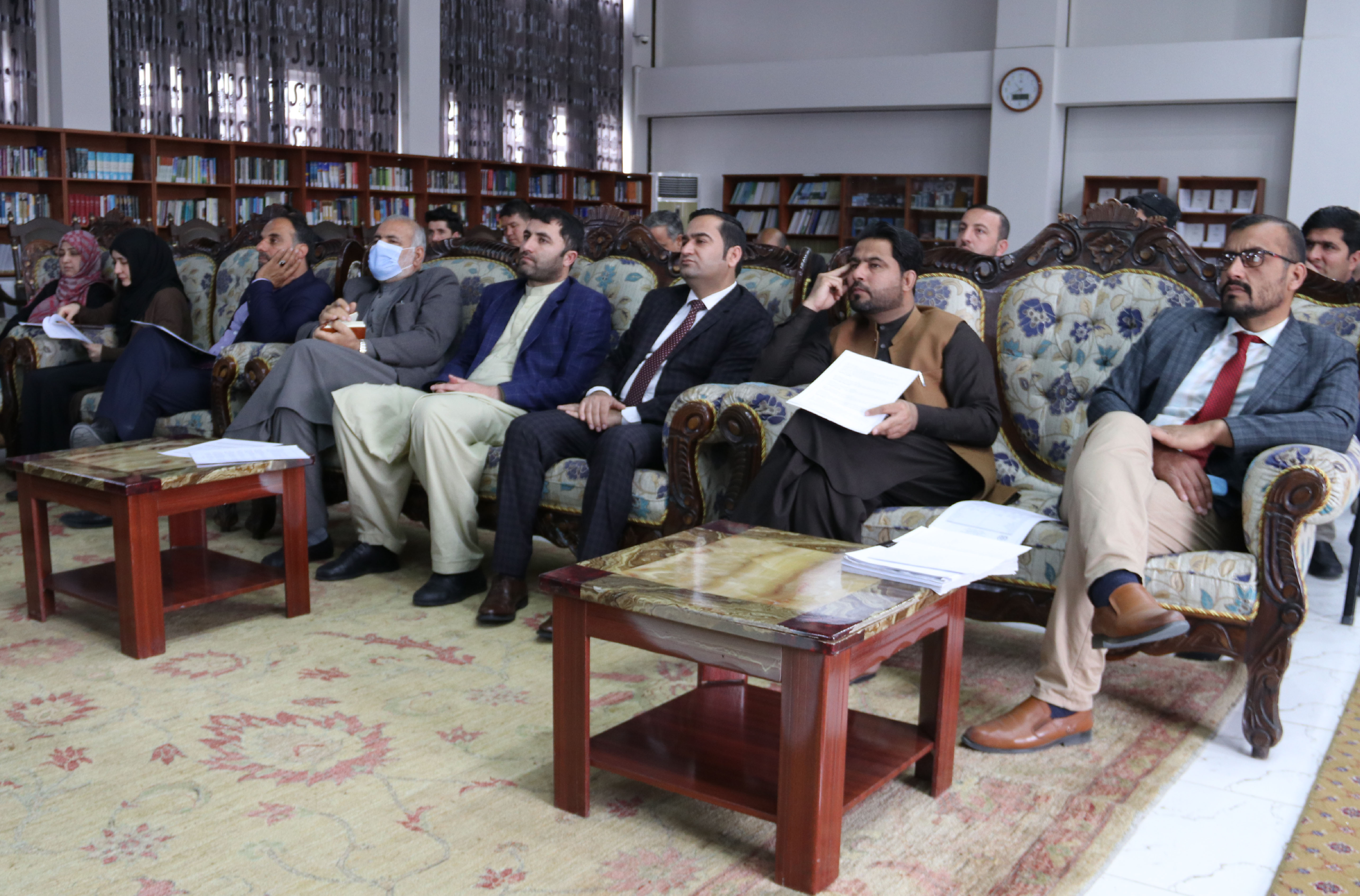 SMPA conducts a Training Workshop on Afghan Passports