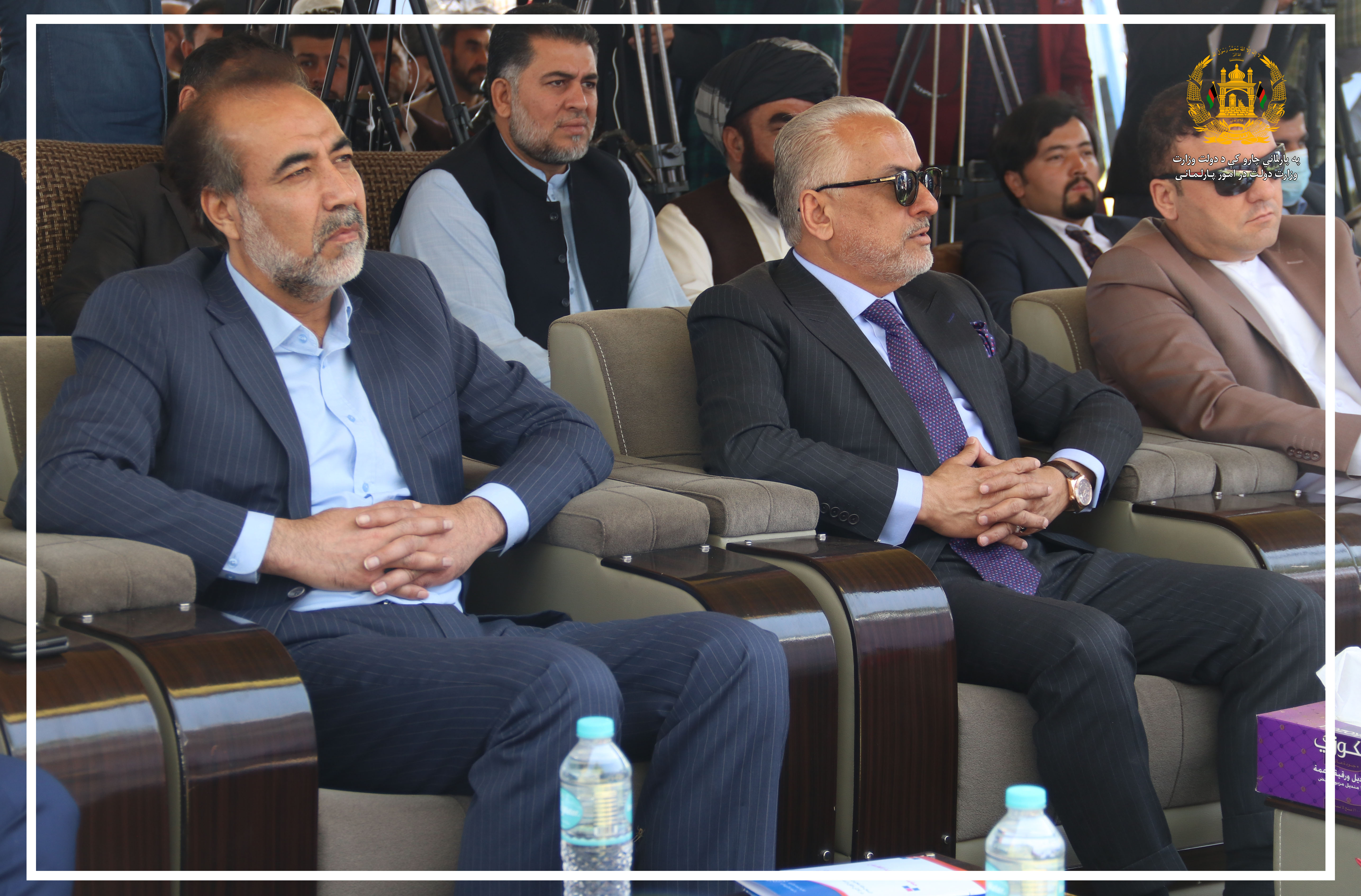 SMPA, DM of Parliamentary Affairs participates the Opening Ceremony of the Afghanistan Manufacturing Industries Exhibition