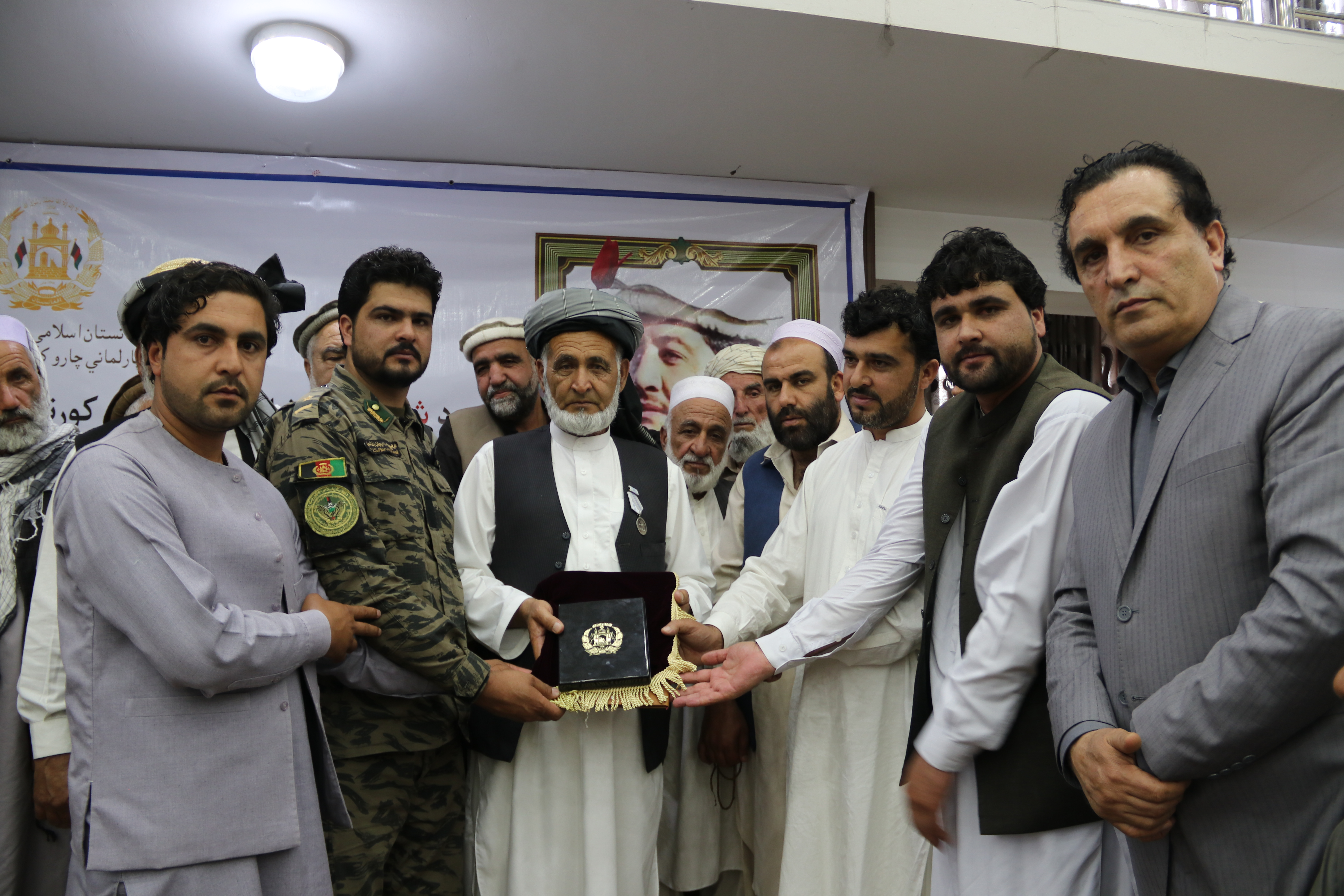SMPA Minister Awards Heroism Medal to Martyr's Family