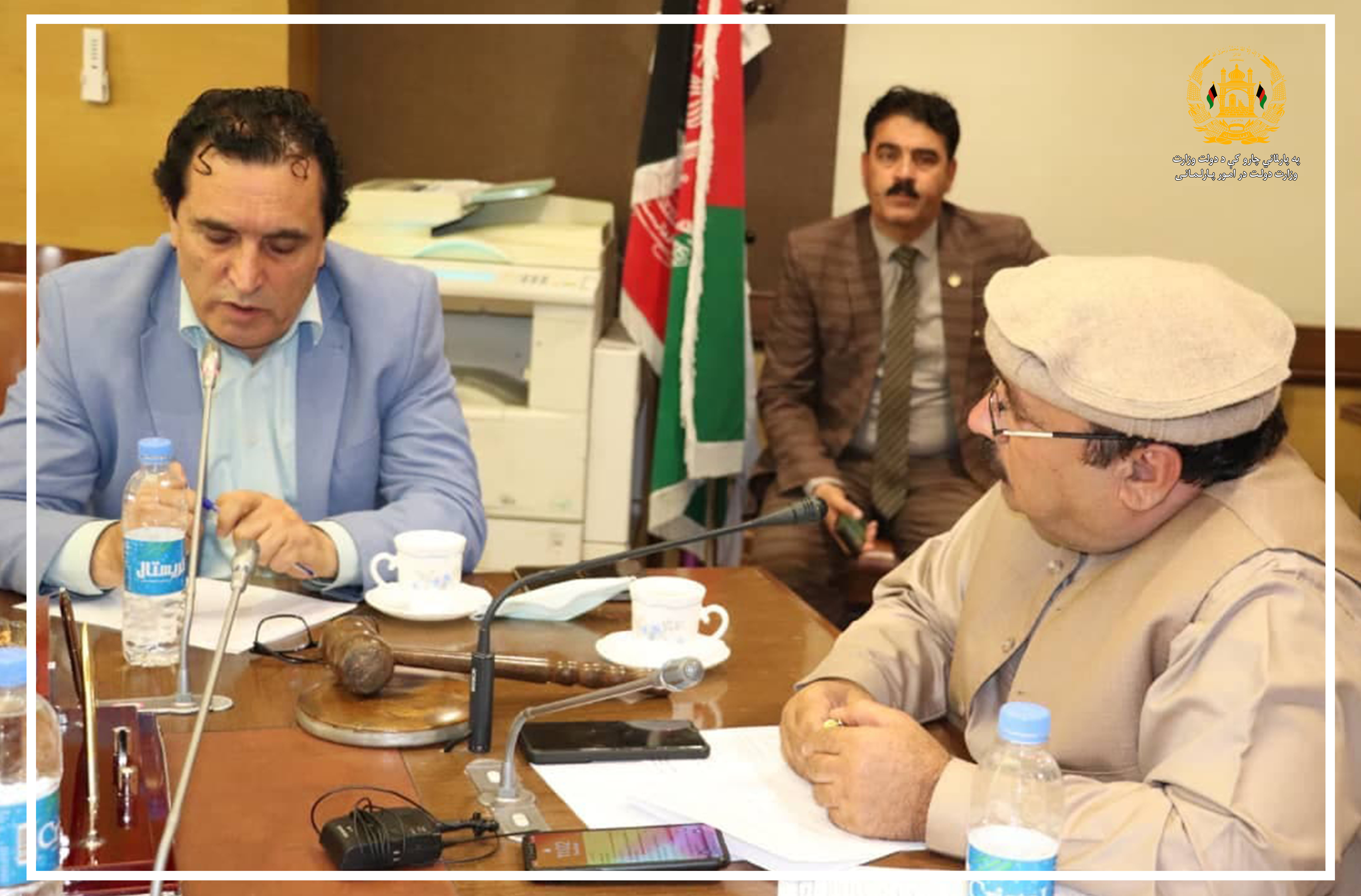 SMPA Minister attends the interrogation Session of the Commission for Immunities & Privileges of MPs