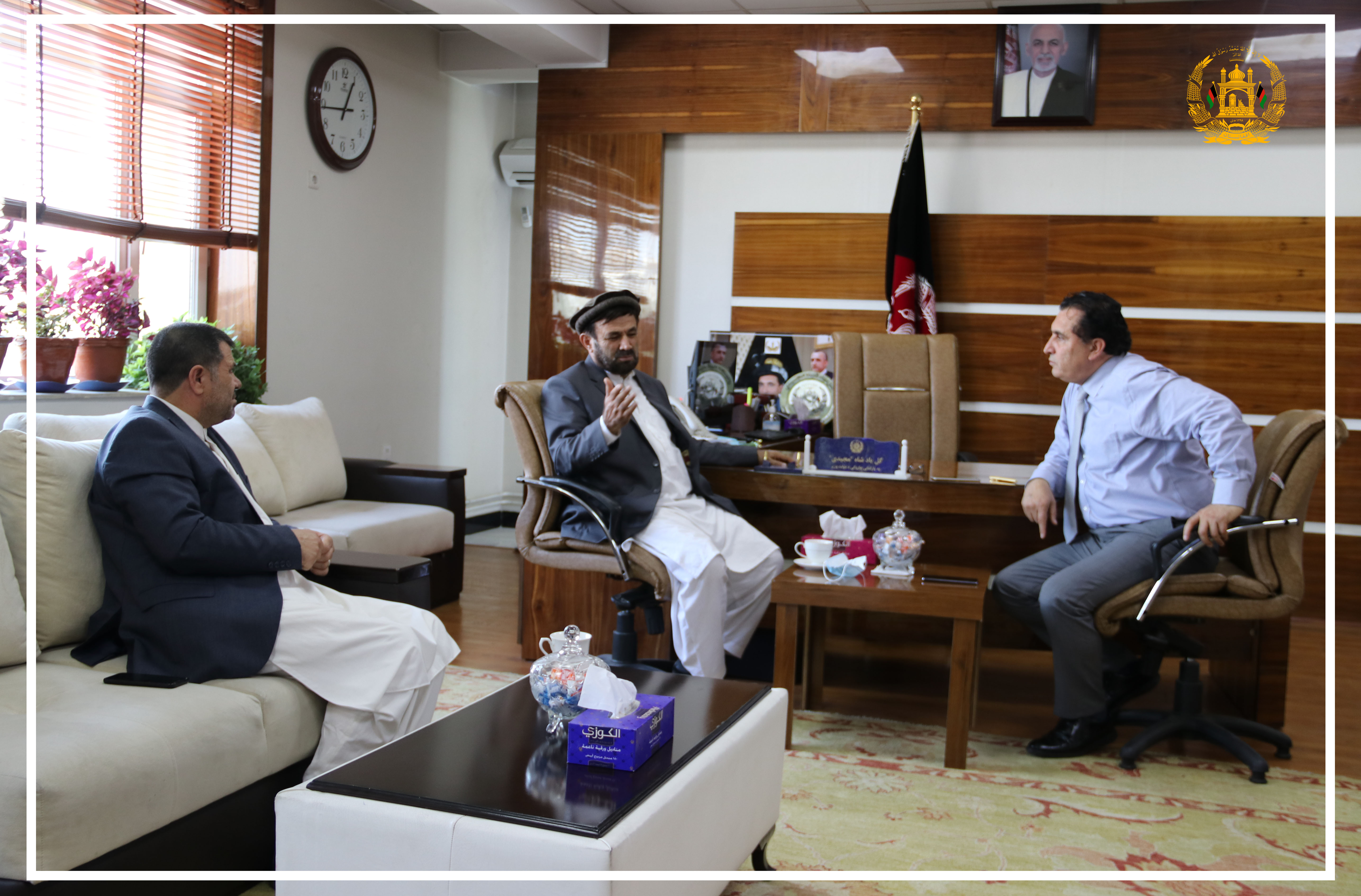 SMPA Minister meets MPs of WJ