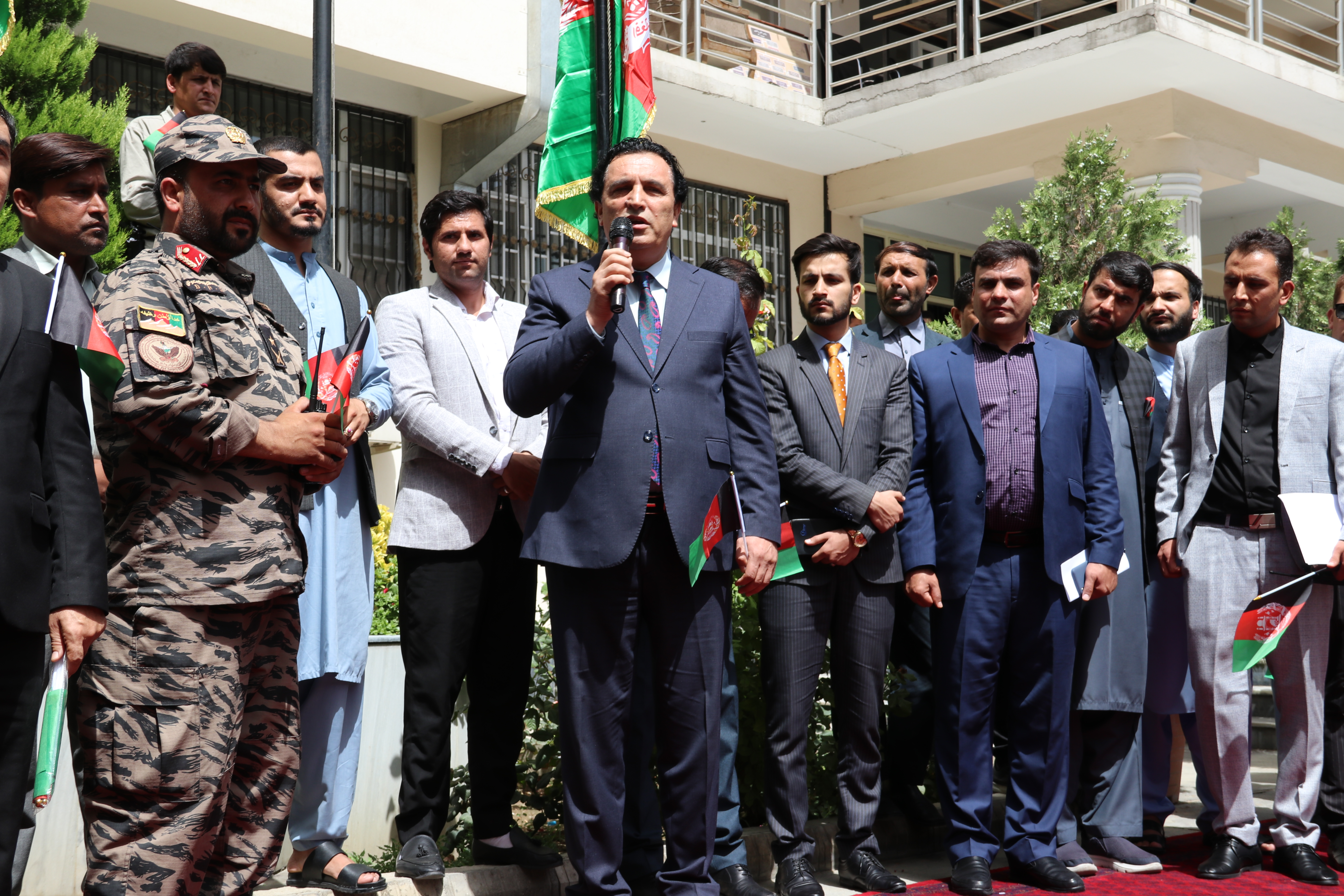 SMPA celebrate Flag National Day